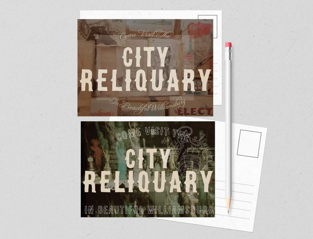 Two Postcards for the City Reliquary